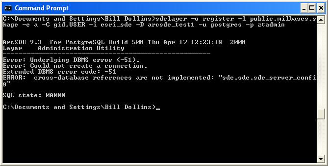 Using ArcSDE 9 3 with PostgreSQL, Part 1 – geoMusings
