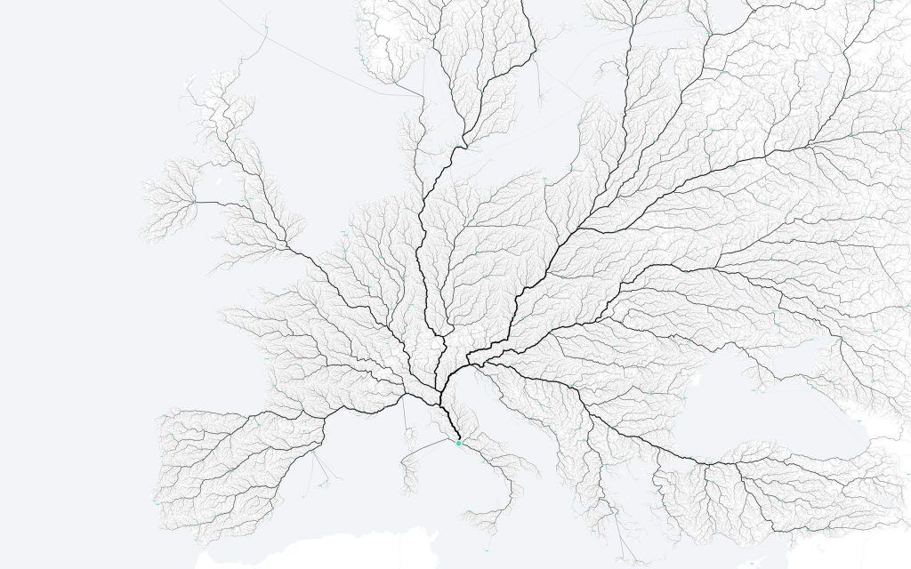 Image courtesy moovel lab team, Data © OpenStreetMap contributors